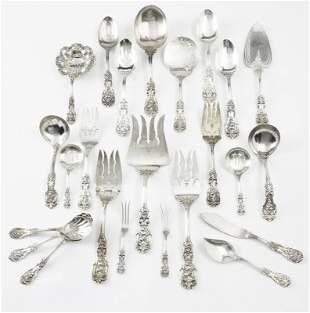 (24) Pcs. Reed & Barton Francis I sterling silver