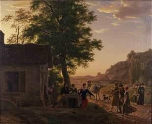 """Antoine Beranger """"Le Musicians Ambulante (The"""