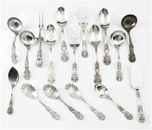 (17) Pcs. Reed & Barton Francis I sterling silver