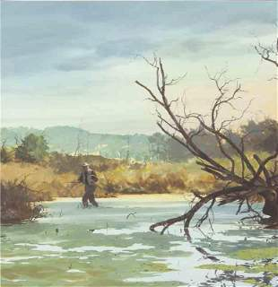 "James Robinson ""Untitled (Fisherman scene)"""
