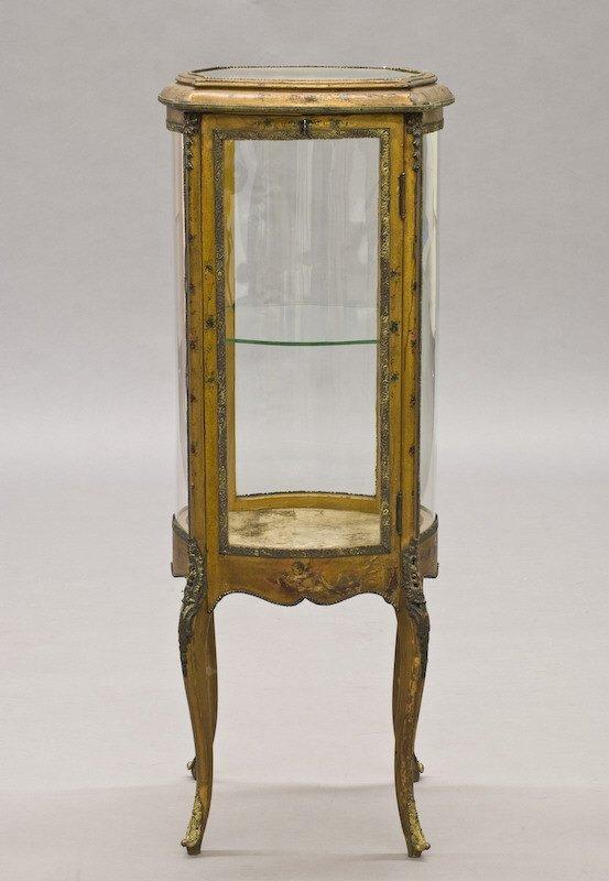 4: Diminutive Vernis Martin style vitrine