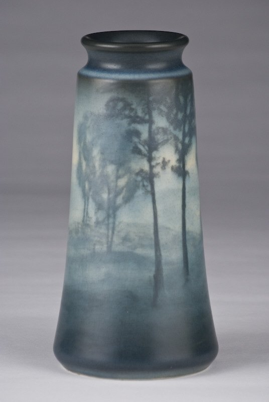7: Rookwood vase painted by Helen M. Lyons