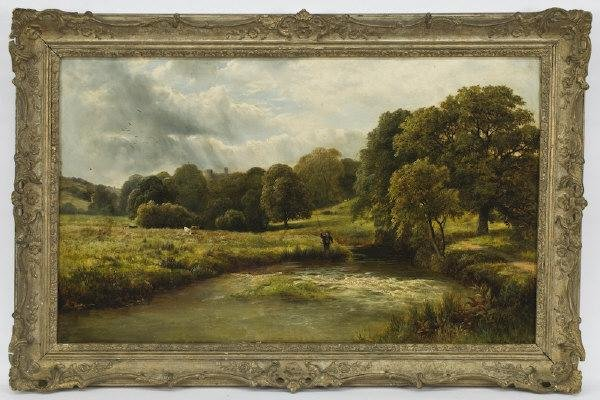 15: George Turner the Younger oil painting on canvas,