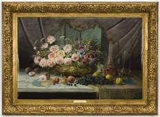 Max Albert Carlier oil painting on canvas