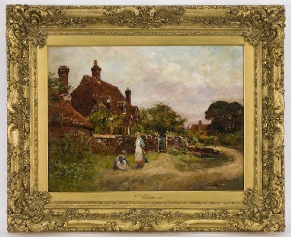 Henry John Yeend King oil painting on canvas,