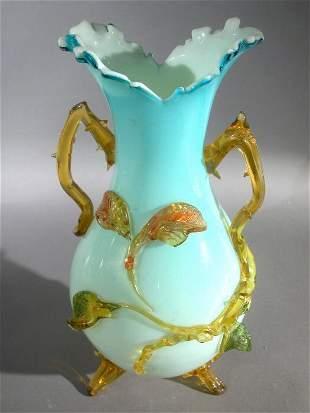 Stevens and Williams vase,