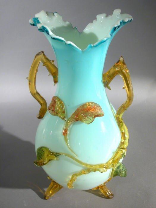 507: Stevens and Williams vase,