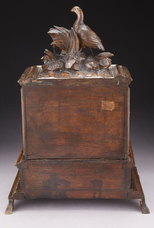 4: Black Forest carved box, the rectangular cabinet - 3