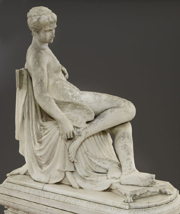 147: Thomas Waldo Story marble sculpture - 10