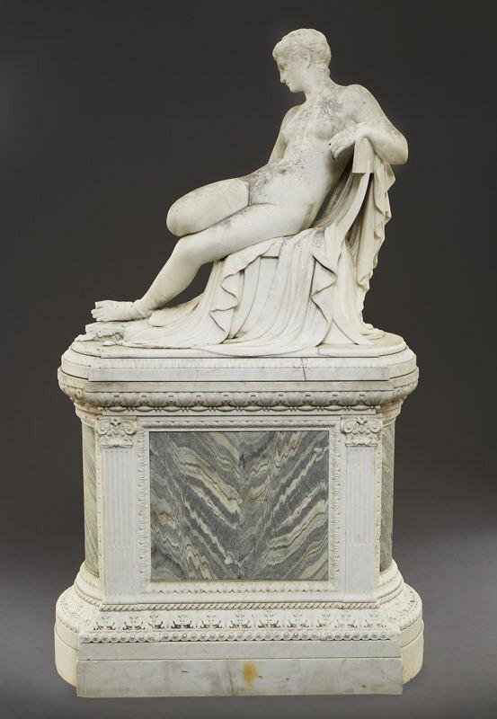 147: Thomas Waldo Story marble sculpture