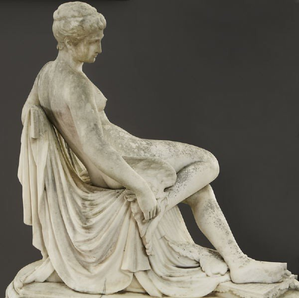 147: Thomas Waldo Story marble sculpture - 3