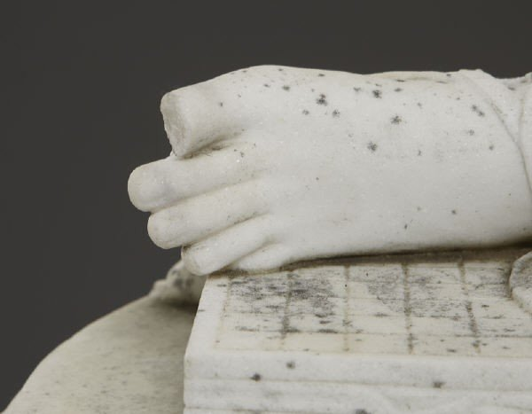 147: Thomas Waldo Story marble sculpture - 4