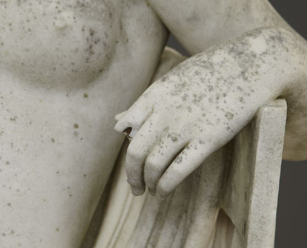 147: Thomas Waldo Story marble sculpture - 5