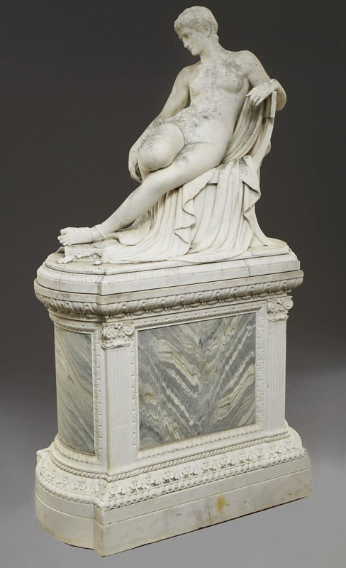 147: Thomas Waldo Story marble sculpture - 6