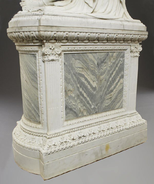 147: Thomas Waldo Story marble sculpture - 8