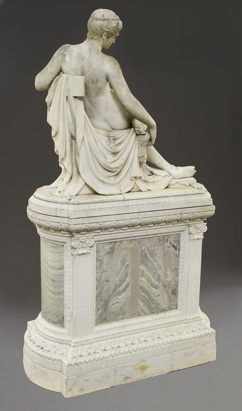 147: Thomas Waldo Story marble sculpture - 9