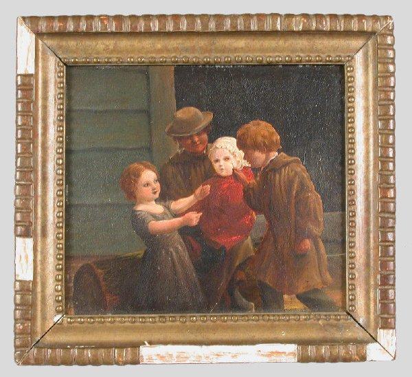 20: Signed William Mulready, RA (Irish, 1786-1863) oil