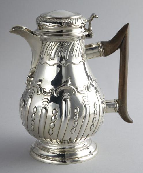 14: Victorian  sterling jug,Thomas Bradbury and Sons,