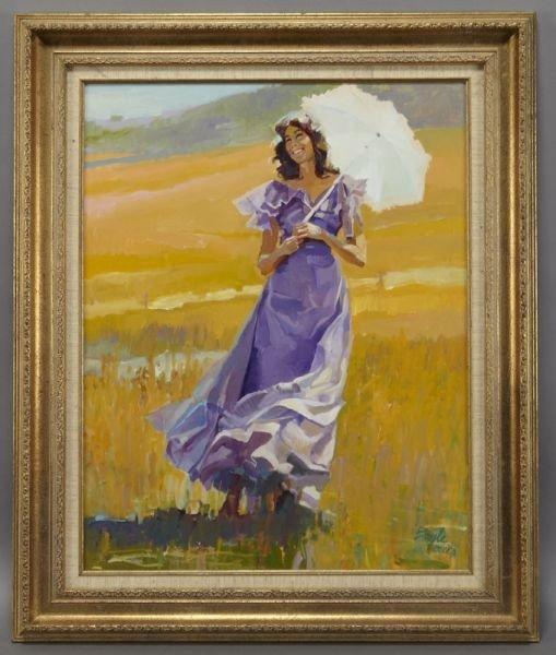 24: Neil (James Neil) Boyle oil painting