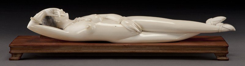 11: Chinese carved ivory doctor's lady