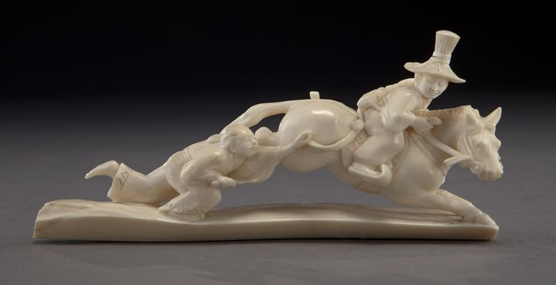 24: Chinese Cultural Revolution ivory carving