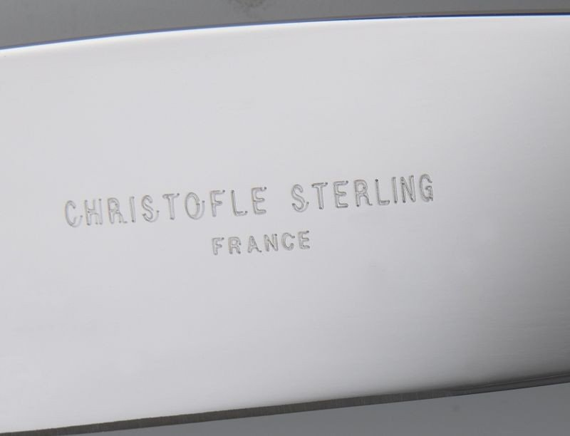 163: 156 Pcs. Christofle Marly sterling silver flatware - 3