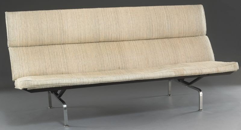 6: Charles & Ray Eames for Herman Miller sofa compact