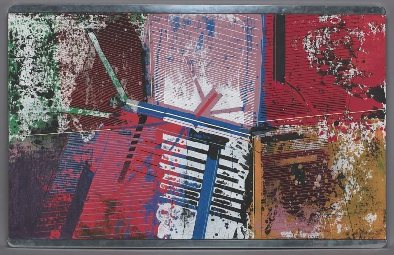 "11: Paul Maxwell, ""Montgomery"" acrylic painting on"