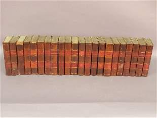 "(22)pcs. Set of bound copies of ""The Edinb"