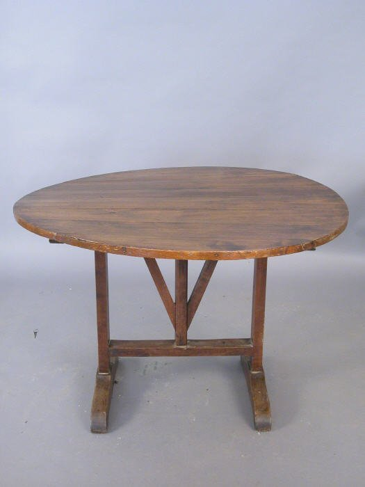 16: 19th century French wine tasting table. 4