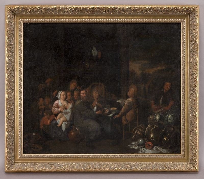 12: Follower of David Teniers the Younger oil