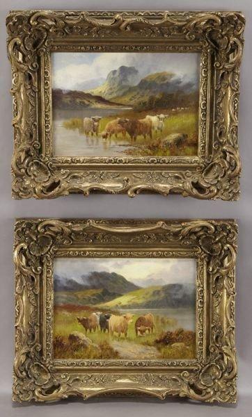 19: Pr. Samuel Johnson oil paintings on canvas