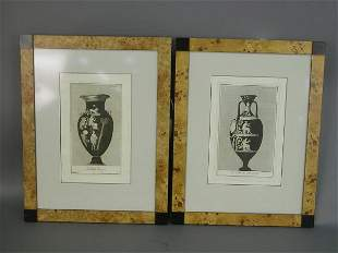 Pair of engravings in the manner of John