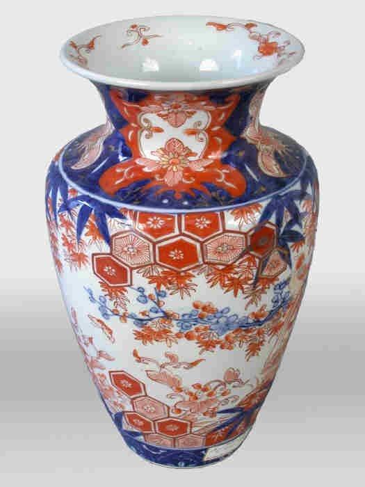 """517: Imari vase. 12""""H x 7""""Dia., Circa - Mid 1"""