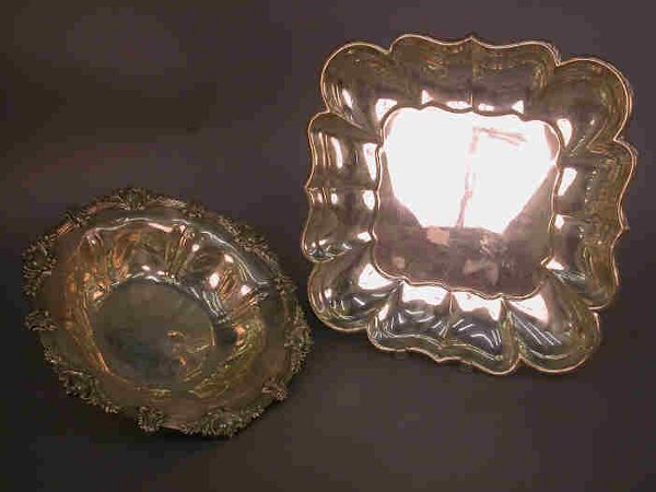 522: Two Sterling presentation pieces, (1) Tr