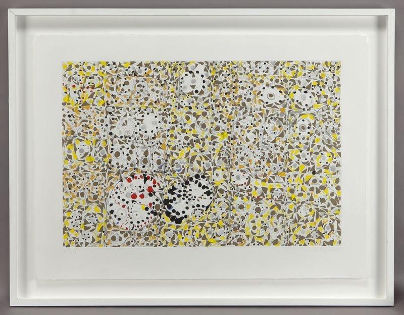 "9: Richmond Burton, ""Solex"" color etching."