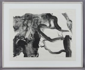 "Willem De Kooning, ""Landing Place"" Lithograph On"