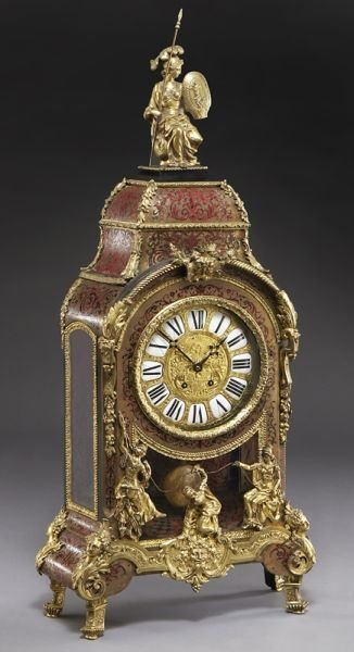 54: Louis XV style boulle and gilt bronze bracket