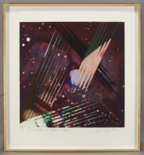 "James Rosenquist, ""The Persistance Of Electrons"