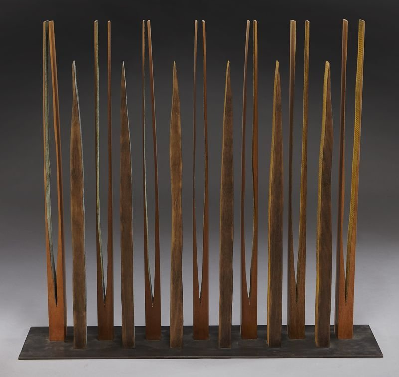 132: Pascal, abstract wood sculpture. - 2