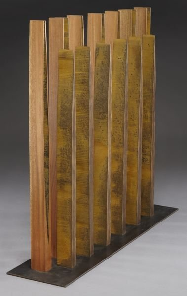 132: Pascal, abstract wood sculpture. - 3