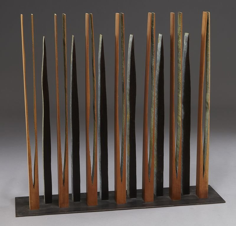 132: Pascal, abstract wood sculpture. - 4