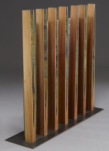 132: Pascal, abstract wood sculpture. - 5