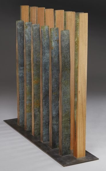 132: Pascal, abstract wood sculpture. - 6