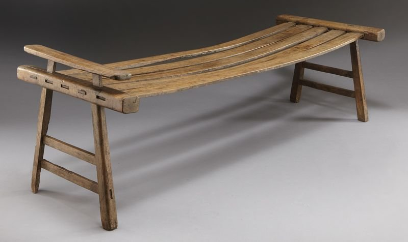 116: Important Chinese Ming Huanghuali summer bed,