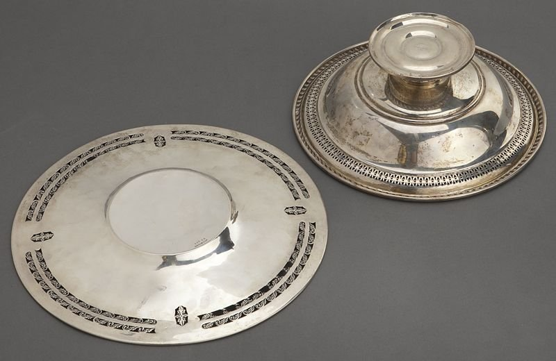 7: (7) American sterling silver dishes, incl.: - 9