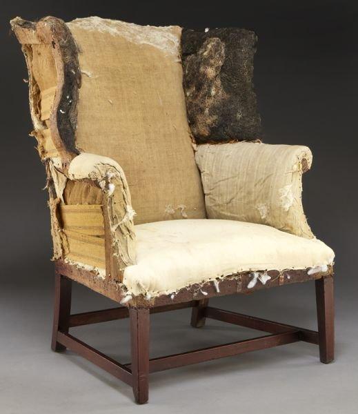 59: Period American Hepplewhite wing chair - 2