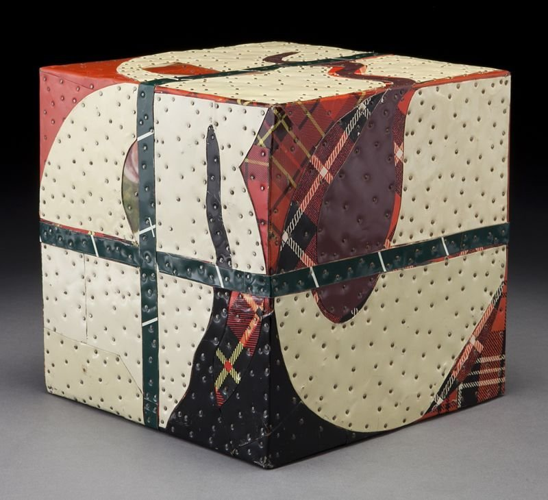 "4: Tony Berlant, ""Untitled Box"" found and fabricated"