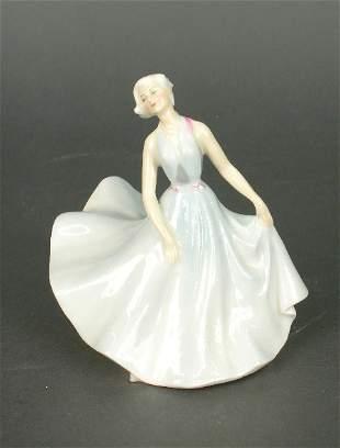 "Royal Doulton ""Pirouette"" porcelain fig"