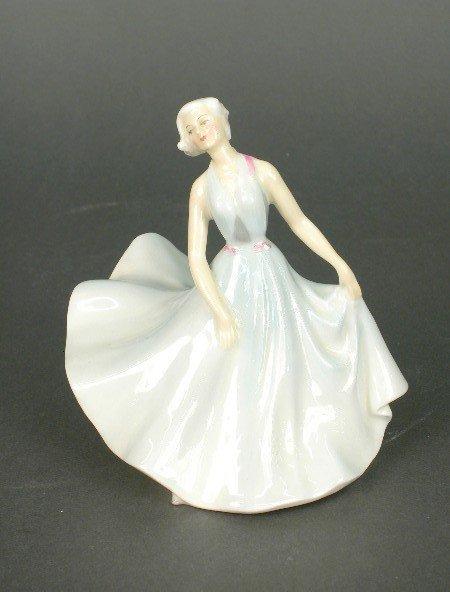 "2007: Royal Doulton ""Pirouette"" porcelain fig"